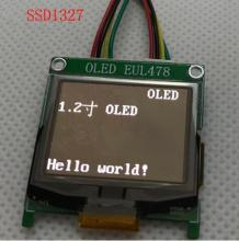 NoEnName_Null 1.2 inch SPI White OLED Screen with Adapter Board SSD1327 Drive IC 128*96