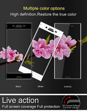 Buy Sony Xperia XZ Premium Glass Film iMAK Anti-Explosion 3D Full Tempered Glass Screen Protector Sony XZ Premium Film for $8.48 in AliExpress store