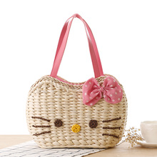 Hot High Quality Women's Hello Kitty Handbag Girls Cute Cartoon Messenger Bags Women Shoulder Bags Bolsas