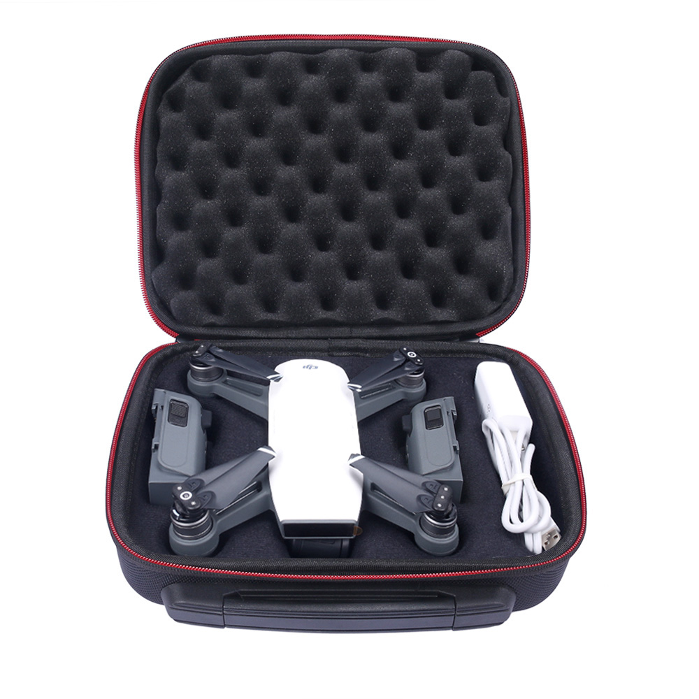 New Waterproof Hardshell Handbag Carry Box Pouch Cover Bag Case for DJI SPARK Quadcopter Drone 2 Batteries and Other Accessories(China (Mainland))