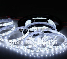 10% discount DHL free shipping flexible waterproofed led strip 5050 DC12v IP65 led strips 60led/m 5m/roll 300led 100m/lot