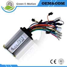 Free Shipping Hub Motor Controller 24v 36v 48v Brushless Motor Controller Electric Bicycle E-bike Controller 250W 350W
