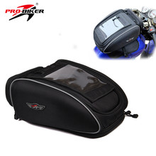 PRO-BIKER Motorcycle Bag Mochila Maletas Motorbike Black Bolso Motocicleta Magnetic Oil Fuel Tank Bags Motos Waterproof Luggage(China)