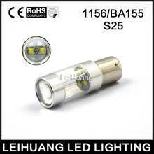 Good price 2xS25 1156 BA15S P21w 30W  LED 360-Degree Shine Driving Lamp Bulb Auto Car Brake Back-Up Sourcing Light White