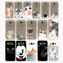 new Pug Dog cat Design Hard Case for Samsung Galaxy A3 A5 J3 J5 J7 2015 2016 Note 5 4 3 2 Grand 2 J3 J5 Prime cover