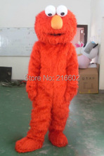 elmo costumes for adults elmo  mascot costume elmo mascot adult clothing sales high quality Long Fur Elmo Mascot Costume
