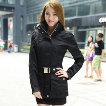 Hight Quality Spring new authentic Lady Jackets casual jacket and long sections Coat