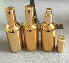 50pieces/lot 100ml High temperature gold plated refillable empty atomiser spray perfume bottle,perfume container,perfume packing