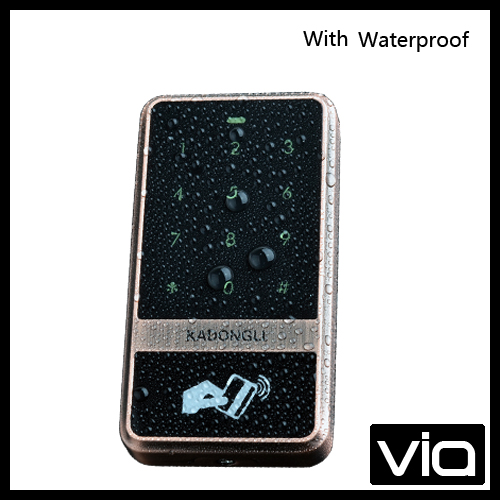 C60 ID+Waterproof Direct Factory Sales wieless metal case metal case touch screen Automatic  card Door Lock System<br>