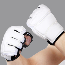 Buy Professional Adult Children Taekwondo Gloves Hand Protector WTF Karate Boxing MMA Gloves Kids Training Punching Sandbag for $12.60 in AliExpress store