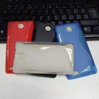 S Line Cover For ZTE Blade Buzz V815W Fundas Soft TPU Silicone Case For ZTE Blade Buzz V815W Back Cover Phone Bags Case