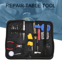 19pcs Watch Repair Tool Kit Watch Parts Clock Case Opener Watch Link Pin Remover Spring BarWatchband Disassemble with Storage