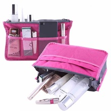 Portable Travel Storage Bag Cosmetic Container Make Up Organizer Multifunction Holder Zipper Thicken Storage Bag Hot Sale