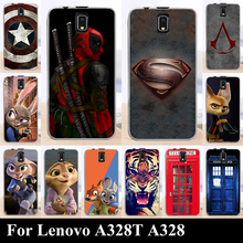 High Quality Transpatent Soft Silicone tpu Color Paint Painting Case For Lenovo A328 A328T A 328 A 328 T Mobile Phone Cover Case