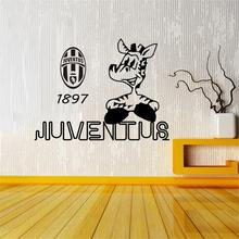Juventus football creative wall stickers room bedroom decoration wall stickers