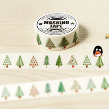 15mm X 8m lovely Hope tree DIY Washi tapes / Masking Tape / Decorative Adhesive Tapes / School Supplies Fashion decorative