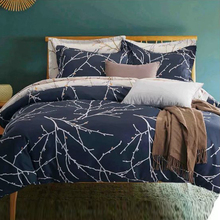 HOT!American retro style with branches printed bedding set duvet cover set comforter cover set King Queen Full Twin size