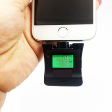 Mini portable Digital Breathalyzer breath Blood Alcohol Tester Detector Tester for iPhone 5 6 7 Samsung Android phone
