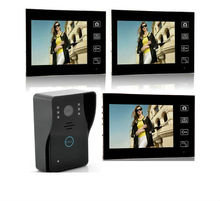 Freeship 7inch Wireless Video Door Phone intercom Doorbell Wireless Video Intercom IR Camera Monitor 150M Transmission