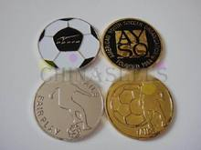 1pcs Sports soccer football champion pick edge finder coin toss referee side coin tool(China)