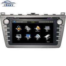 8 inch Professional Wince Car Multimedia DVD Player For Mazda 6 2008- With GPS Navigation Free Map
