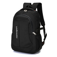 New fashion backpack men canvas High capacity travel bag backpacks Business Laptop bag men and women student school bag backpack(China)