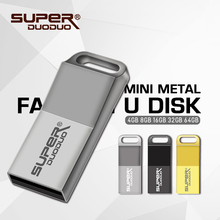16gb 32GB mini metal 4gb 8gb Memory Stick USB 2.0 8GB USB Flash Drive waterproof 128GB U Disk Pendrive usb stick real capacity(China)