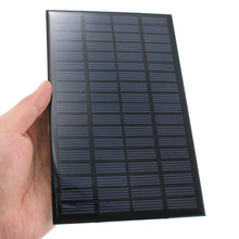 18V 2.5W High quality universal Polycrystalline Stored Energy Power Solar Panel Module System Solar Cells Charger 19.4x12x0.3cm