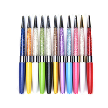 1PC New Pen stardust pen Crystalline Lady diamond Ballpoint Pen elements cyrstal wedding gift and Office School crystal pen(China)