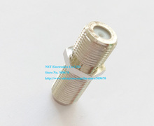 F Type Female to Female Coaxial RG6 Barrel Coax Cable Connector Adapter/Free Shipping/10PCS