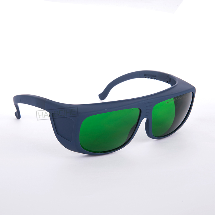 LSG-2 190-440 &amp; 600-760nm laser safety glasses for 635nm 650nm 660nm red lasers and 755nm Alexandrite laser<br>