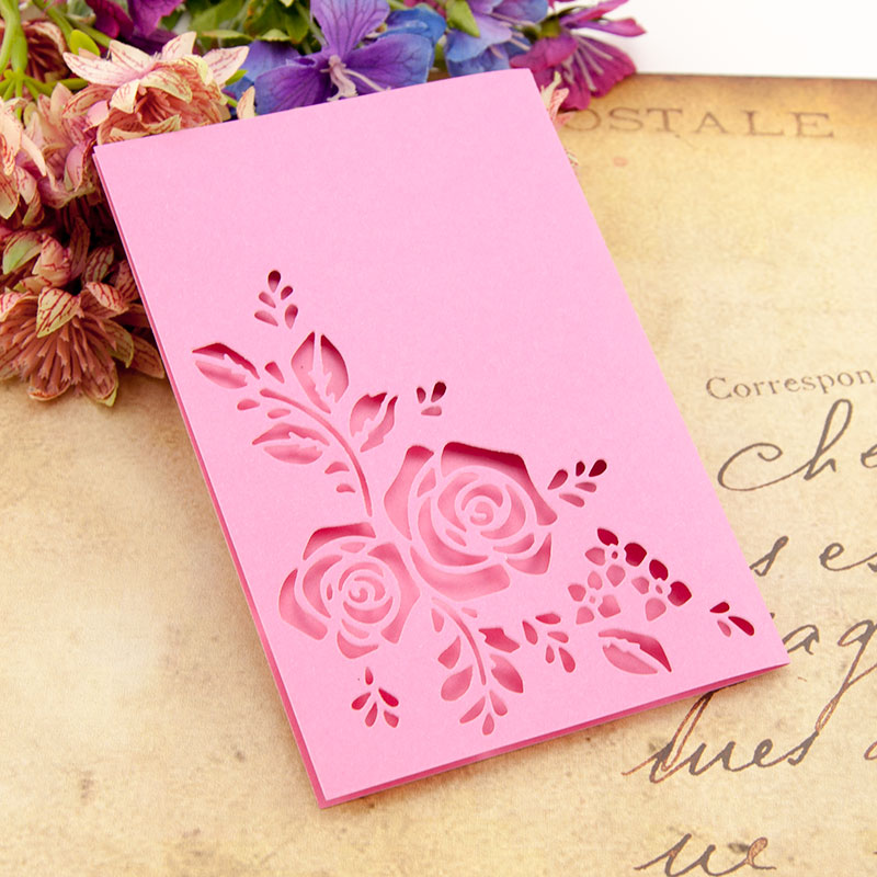 Flower Frame Edge Cutting Dies Stencil DIY Craft Paper Card Decor 8C