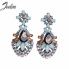 JOOLIM Simple Gorgeous Drop Earring Statement Chandelier Earring Party Earring Women Gift Good Quality(China)