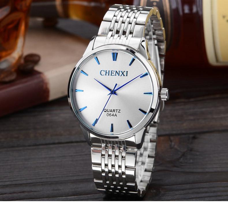 Steel Stainless Wrist Watch Men 2017 Top Brand Luxury Famous Male Clock Business Quartz Watch Men Watches Ceasuri Barbati Waches<br><br>Aliexpress