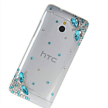 Handmade 3d bling Diamond case Cover for htc Desire 526 D526 526G/300 301E/T6/200/700 7060/601/M8/M9 phone protective sleeve