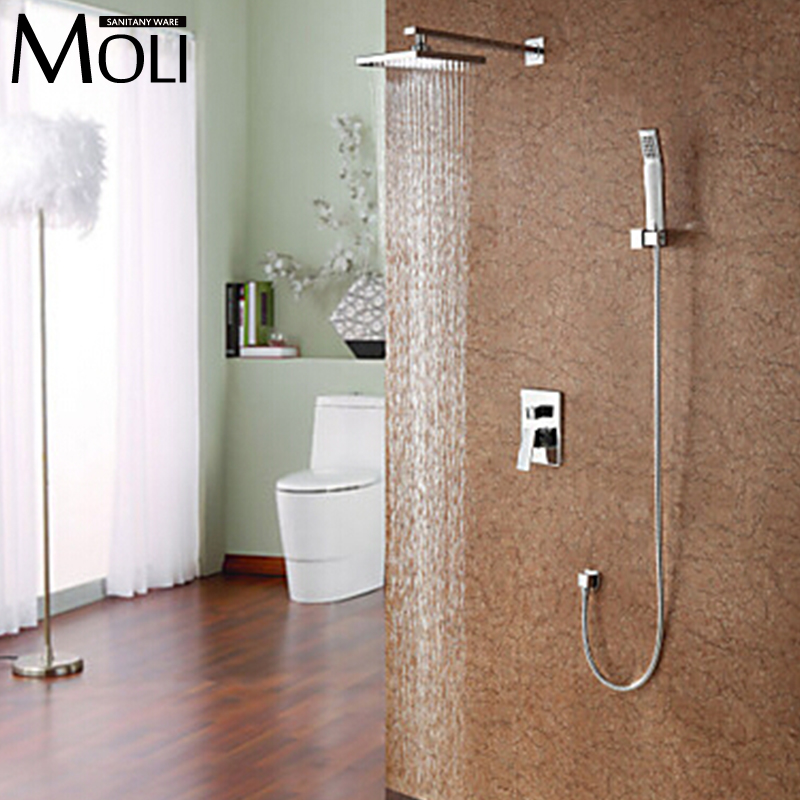 Bathroom rain shower set with Shower head and hand shower<br><br>Aliexpress