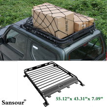 Newest Basic Car Roof Tray Platform Rack Carry Box Luggage Carrier Basket For SUZUKI JIMNY