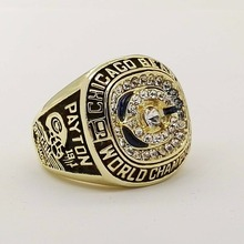 Who Can Beat Our Rings, High Quality 1985 Chicago Bears For Payton Super Bowl Sports Replica Championship Rings(China)