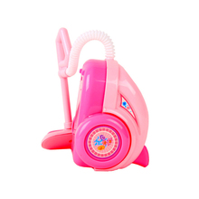 Play House Vacuum Cleaner DIY Toy Children Pink Pretend Play House Vacuum Cleaner Toy Not Included Batteries