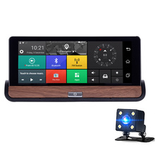 Xgody 3g Wifi Car Navigation Android 7 Inch Bluetooth Navigators Automobile With Dvr Fhd 1080 Vehicle Gps Sat Nav Free Maps(China)