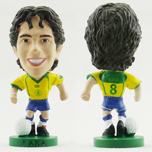 corinthian prostars World Cup Soccer Brazil Kaka Doll model The best football dolls Brazil home Kaka Ronaldo(China)