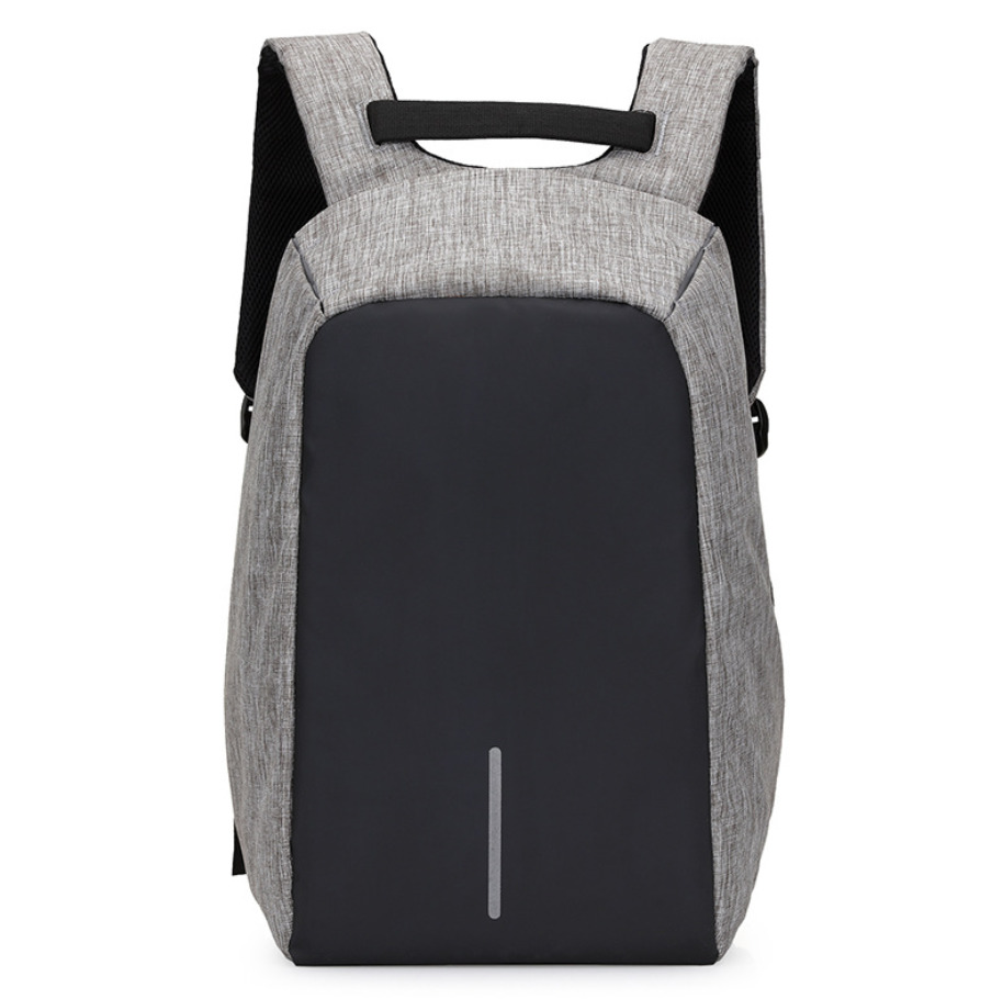Fashion Canvas Men Backpack Anti Theft With Usb Charging Laptop Business Unisex Knapsack Shoulder Waterproof Women Travel Bag<br>