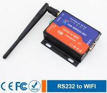 USR RS232 для WI-FI 802.11 B/G/N конвертер RS232 данных WI-FI или TCPIP сокета(China)