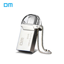 DM PD008 Metal otg USB Flash Drive 8G 16G 32G usb 2.0 flash disk Smartphone Pendrive Micro USB Portable Storage Memory USB Stick