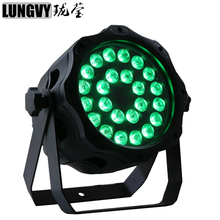 Free Shipping IP65 Waterproof 24x15w RGBWA 5in1 Outdoor Led Par Light DMX512 Disco Dj Stage Light