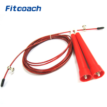 Speed Jump rope UIC-JR17, Plastic handle, Stainless Steel Cable,Fitness Equipment(China)