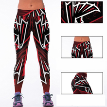 Woman Yoga Pants Fitness Fiber Sports Falcons Leggings Tights American football Trousers Exercise Training Clothing Sportswear(China)