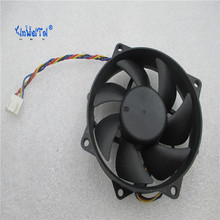 Original motherboard cooling fan for Foxconn PVA092G12P 12V 0.39A 4pin 4wires PWM PVA092G12P 9025 9225 Round Fan(China)