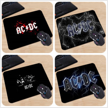 Babaite Hot AC& DC Music Band Black Gaming Custom Classic Customized Rectangle Computer Supplies Mouse Pad 22X18cm Free Shipping