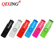 QIXING USB flash drive OTG high Speed stick 64 gb 32 gb 16 gb 8 gb 4 gb externe speicher doppel Anwendung Micro USB Stick(China)